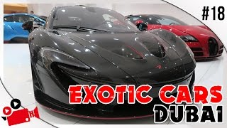 EXOTIC CARS DUBAI! | 1 of 5 FULL Carbon Fibre McLaren P1!!