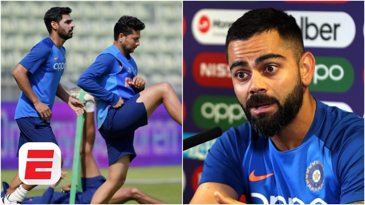 Virat Kohli updates on Bhuvi, Shankar, England struggles and pressure on him | Cricket World Cup