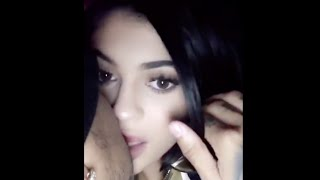 Kylie Jenner Snapchat: Tyga and Kylie make out and Tyga grabs Kylie's butt!!