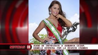 Audio en el que quedó registrada la polémica declaración de la Señorita Cesar sobre La Habana