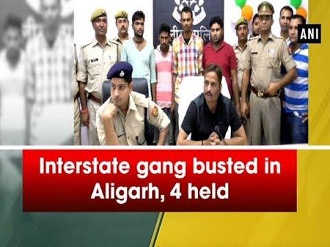 Interstate gang busted in Aligarh, 4 held - Uttar Pradesh News