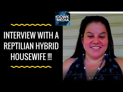 ✅ Fascinating Interview with the Reptilian Hybrid Housewife !!! (MUST WATCH)