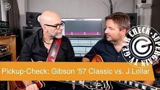 Gambar cover Gibson CS 356  Pickup Check - Gibson Classic 57 und Lollar Imperial Humbucker - SUPERGAIN TV 24