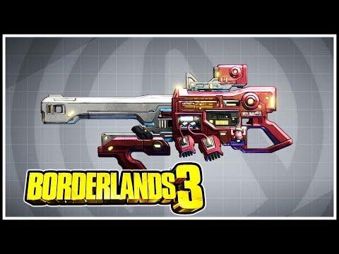 The Horizon Borderlands 3 Legendary Showcase