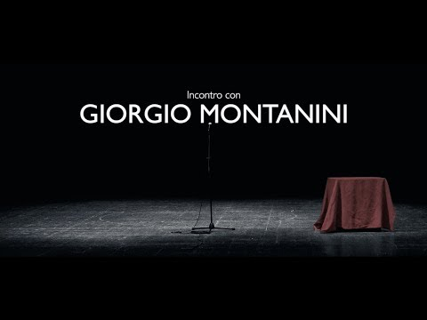 Incontro con Giorgio Montanini - Teatro Comunale di Cagli