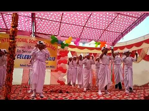 Lungi dance in r.k international school salamba