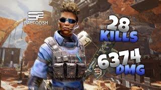 SoaR Daltoosh - Insane Bangalore 28 Kill 6K Game on Apex Legends