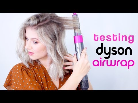 TESTING DYSON AIRWRAP, IT'S MAGICAL!!