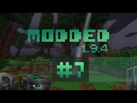 Minecraft Modded 194 7 Roots Wildwood Living Armor лучшие