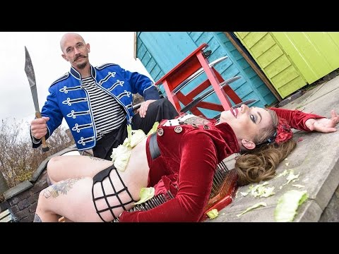 Daredevil Dad And Daughter Perform Amazing Circus Act
