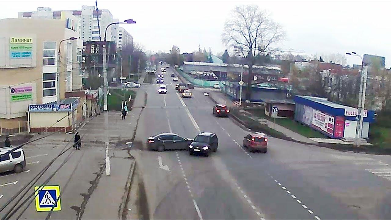 ДТП в Серпухове. Прямой удар... 24 октября 2017г.