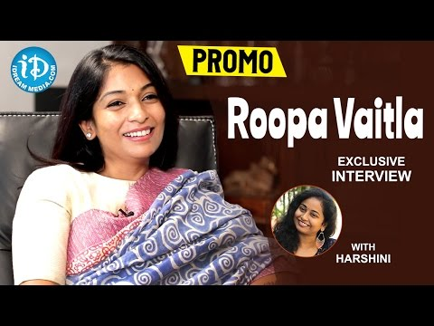 Roopa Vaitla Exclusive Interview PROMO    #Mister    Talking Movies With iDream