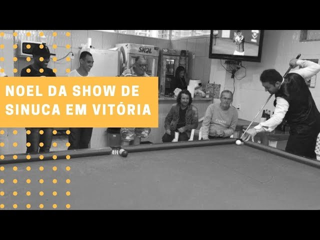 Show de Sinuca com Noel no Clube Amigos da Sinuca - Vitória - ES #snooker