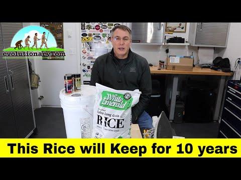 How to Store Bulk Rice
