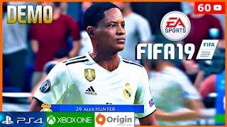 FIFA 19 El Camino DEMO Gameplay Español | Modo Historia - Alex Hunter en el Real Madrid