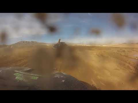 Green Army 1St Place Justin Davis #185 Battle At Primm '18