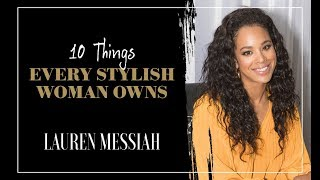 10 Things Every Stylish Woman Owns