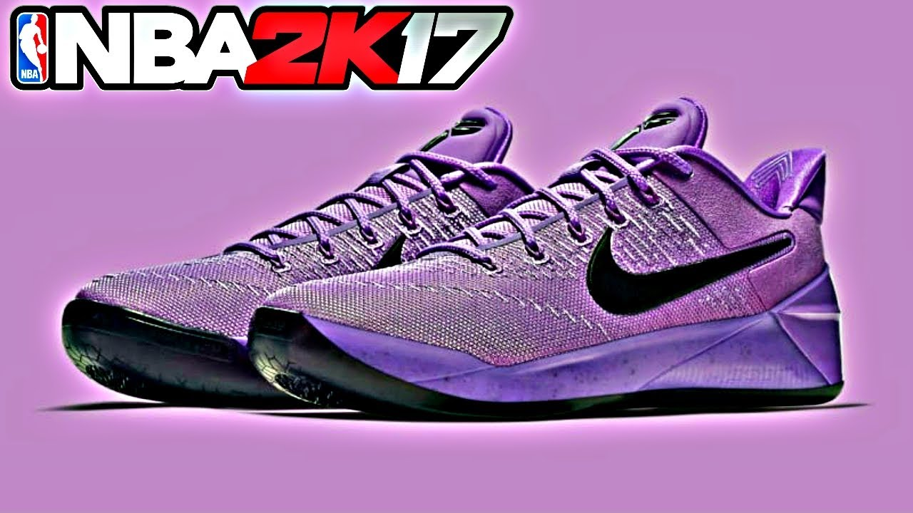 9ba8458fb57f NBA 2K17 Shoe Creator Nike Kobe AD