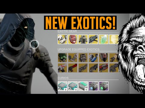 Destiny new exotics titan ruin wings how to get exotic weapons