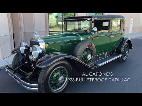 Al Capone's 1928 Bulletproof Cadillac