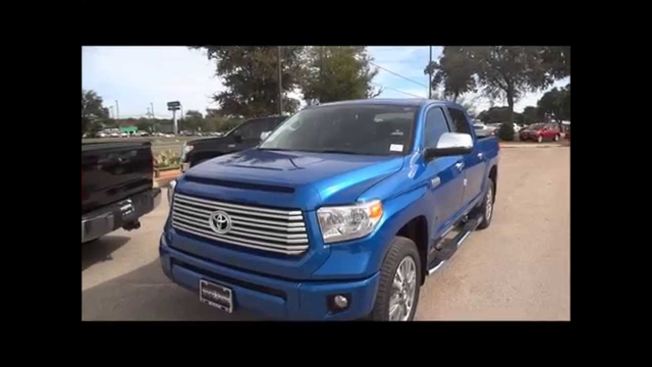 2016 toyota tundra platinum review - youtube