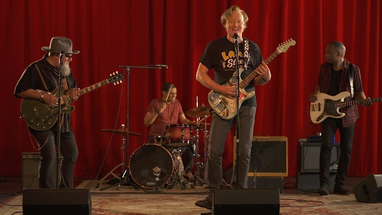 Conan & The Basic Cable Band Perform