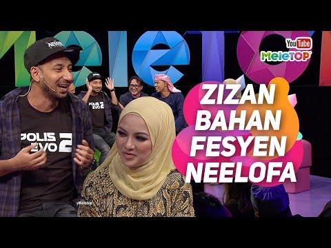 Zizan bahan fesyen Neelofa ular pakai tudung  Polis Evo 2  Shaheizy Sam Hasnul Rahmat  MeleTOP