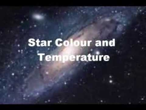 Star Colour And Temperature