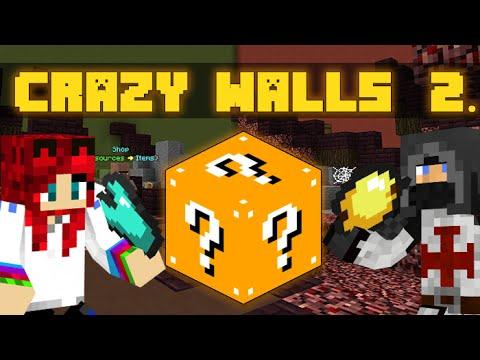 Minecraft - Crazy Walls - Szerencse Vs. Fáklya - w/IceBlueBird