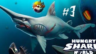 Goblin With The Goblin Shark, Ghost Hammerhead Shark- Hungry Shark World Console Edition Ep.3