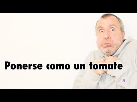 【スペイン語】#102 Ponerse como un tomate