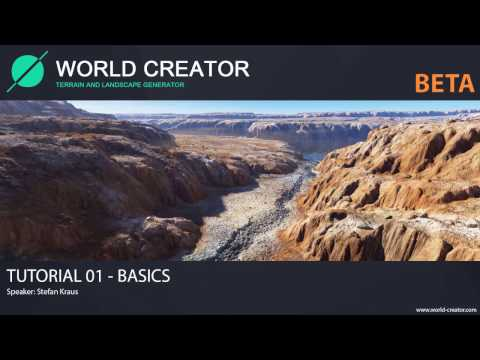 World Creator 2 BETA - Tutorial01 (Basics)
