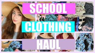 HUGE Back To School Clothing/Fashion Haul 2016-2017 | Back To School Shopping 2016 For A Dress Code!