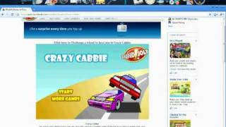 Cheat, at Crazy Cabbie, on MindJolt Games; Facebook.