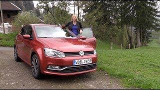 2015 Volkswagen Polo Facelift test review VW Polo Testbericht - Autogefühl