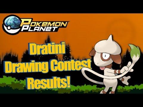 Pokemon Planet - Dratini Fan Art Results!