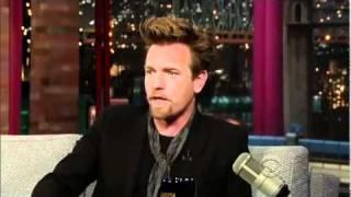 """ Late Show "" mit David Letterman & Ewan McGregor !"