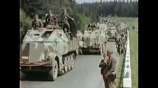 チェコより撤収するドイツ軍 1945
