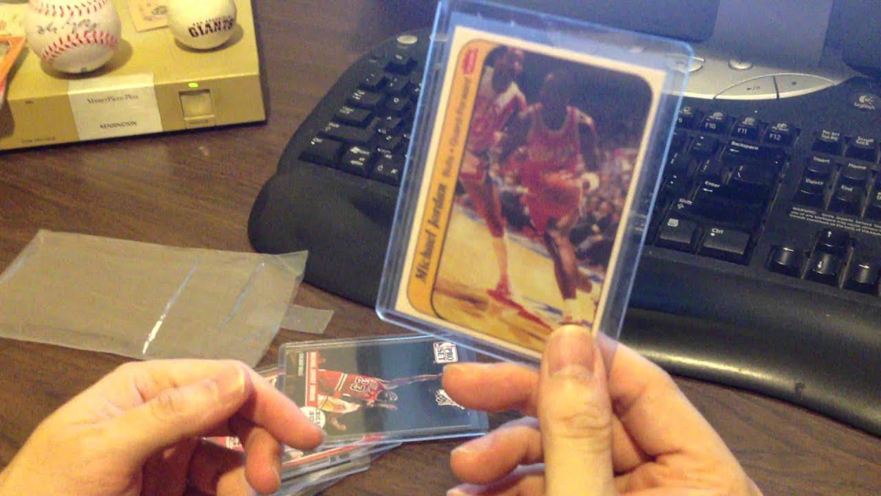 sports shoes 3f6bd 114c4 Real Michael Jordan rookie card