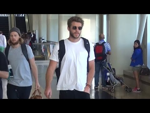 Liam Hemsworth Catches Flight After Ex Miley Cyrus Reveals She Still Loves Him