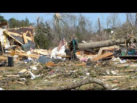 01-21-17 Hattiesburg Mississippi Tornado Damage