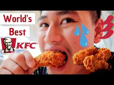 Thailand Got The Best KFC!   KFC's Wing Zab