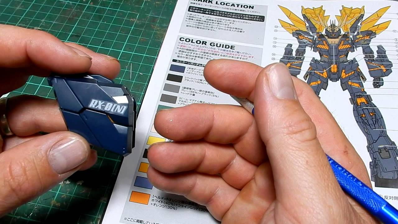 Gunpla Stickers