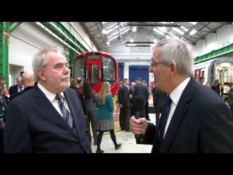 Final S Stock vehicle for London Underground – Interview with Peter Doolin