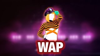 "Just Dance 2021 WAP By Cardi B ft Megan Thee Stallion Season 2 ""Around the world"" fitted"