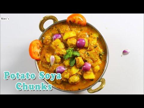 Potato Recipes - Potato Soya Sabzi