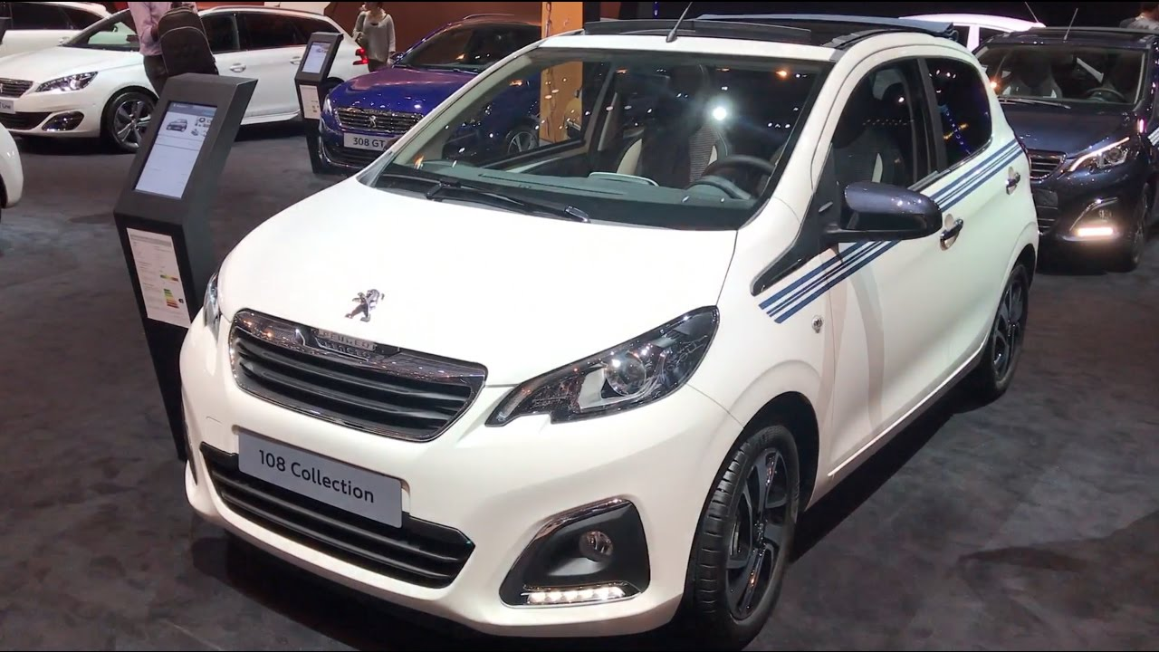 peugeot 108 2017 in detail review walkaround interior exterior youtube. Black Bedroom Furniture Sets. Home Design Ideas