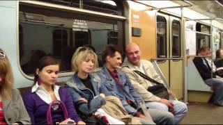 On & off the Moscow Metro 27 June 2009