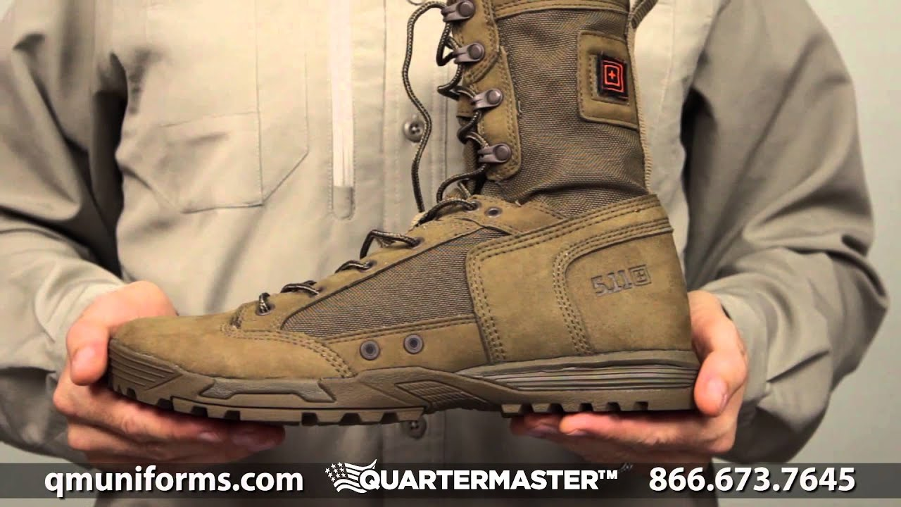 5 11 Men S Skyweight Waterproof Side Zip Military And Tactical Boot