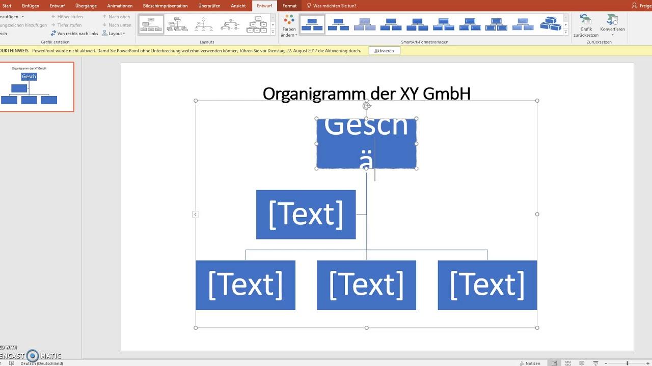 Organigramm Vorlage In Word Powerpoint Excel Erstellen